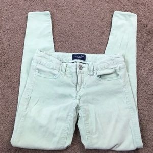 American Eagle Outfitters Green Corduroys